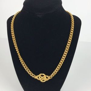 Vintage | Gold Tone Link Chain Necklace
